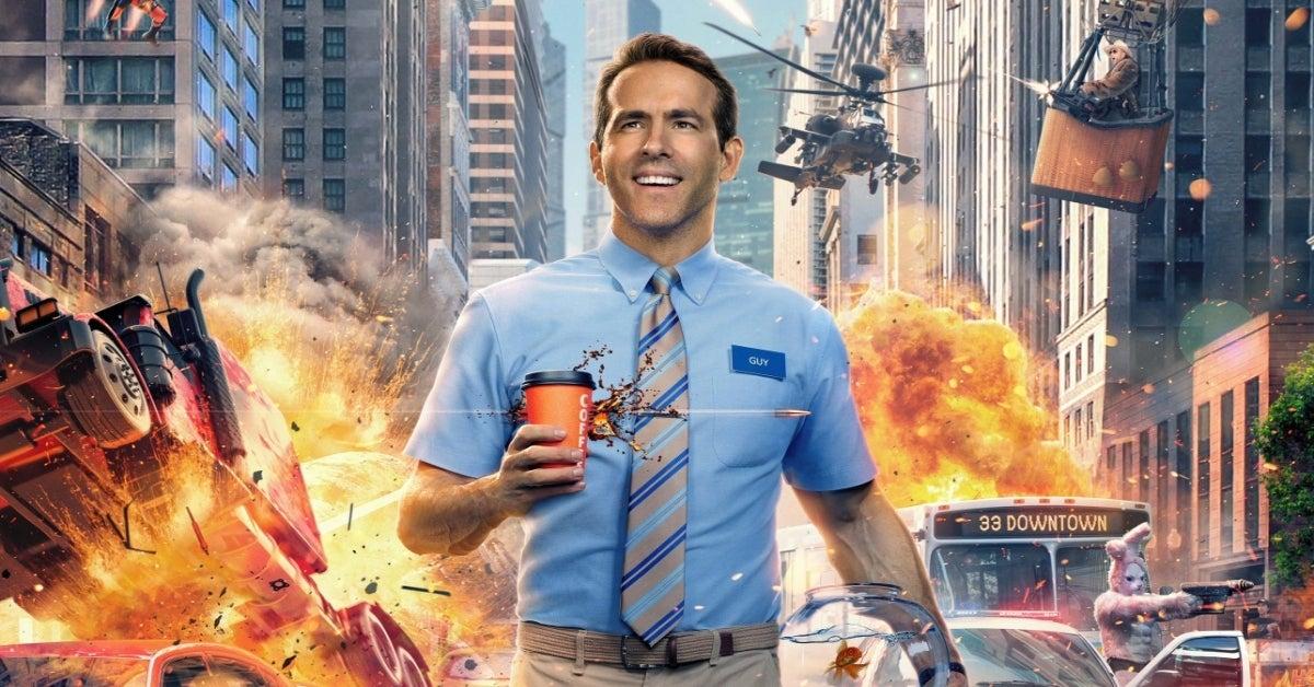 Free Guy movie Ryan Reynolds