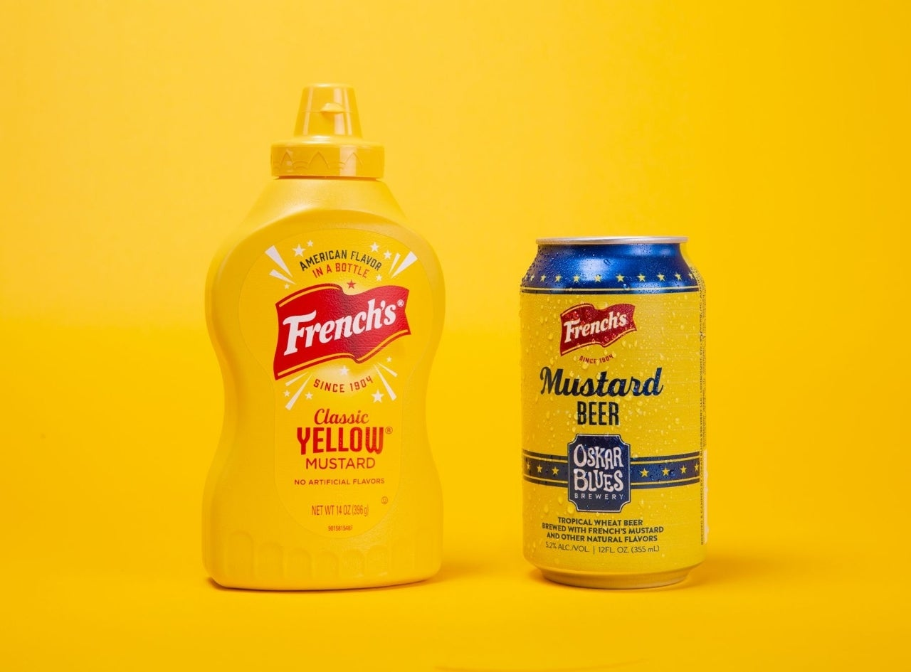 frenches mustard beer