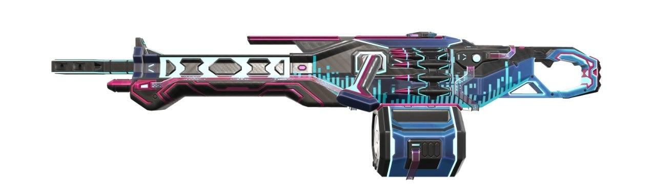 Glitchpop Odin Level 5(Variant 1 Blue)_Level 4_SideView