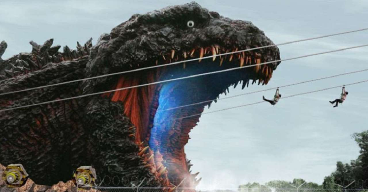 New Godzilla Attraction Shows Off the Kaiju's COVID Measures