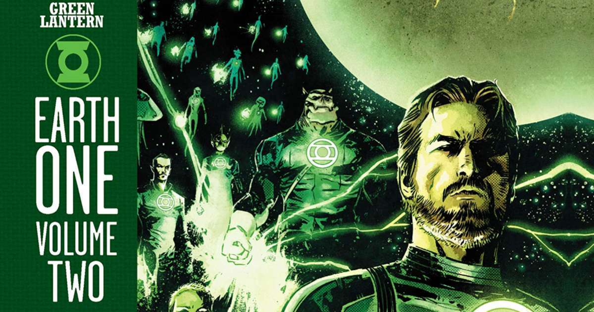 Green Lantern Earth One Vol 2 Review - Cover