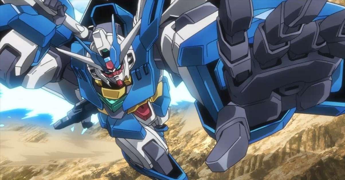 Gundam Decals Statue Walking