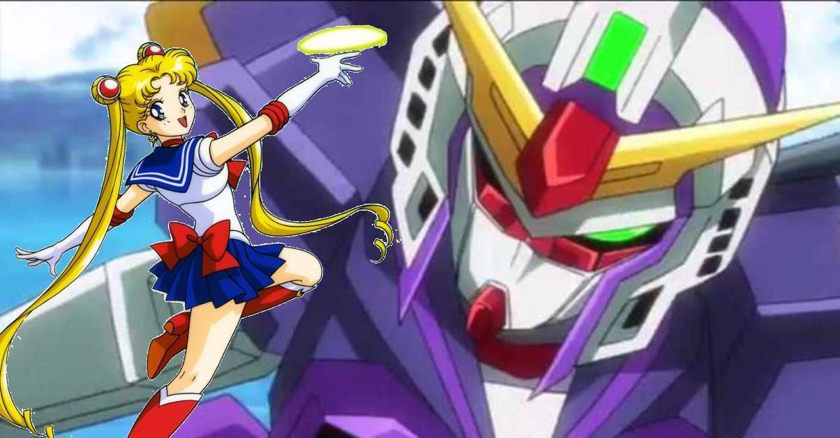 Gundam Sailor Moon Gunpla