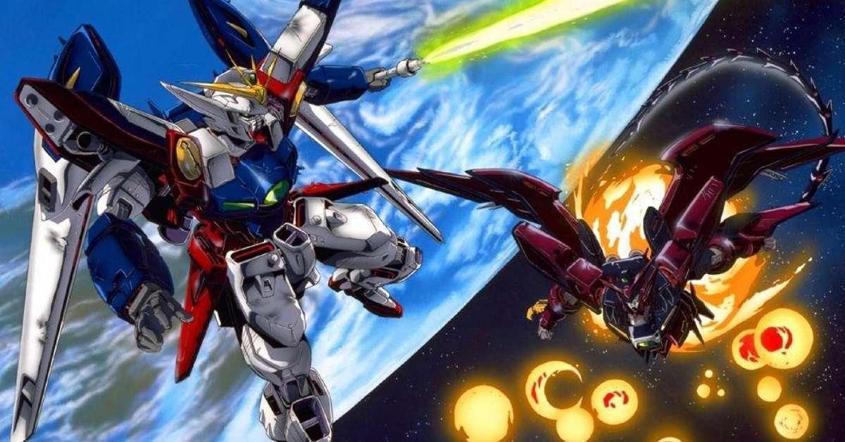 Gundam Walking Statue