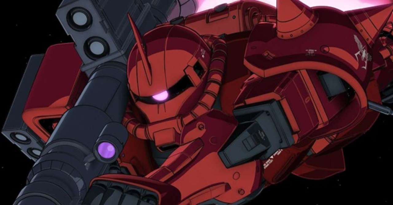 Mobile Suit Gundam Unleashes The Zaku 2 Tape Dispenser