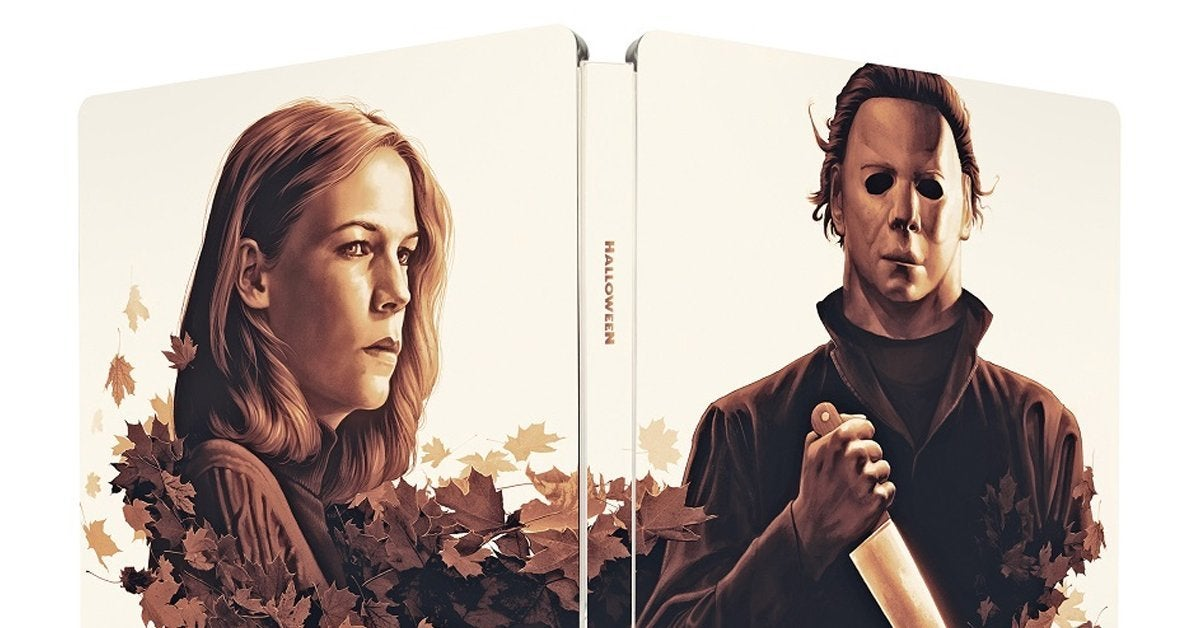 halloween blu ray steelbook cover