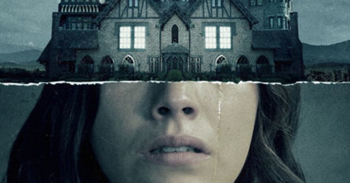 haunting of hill house poster cover