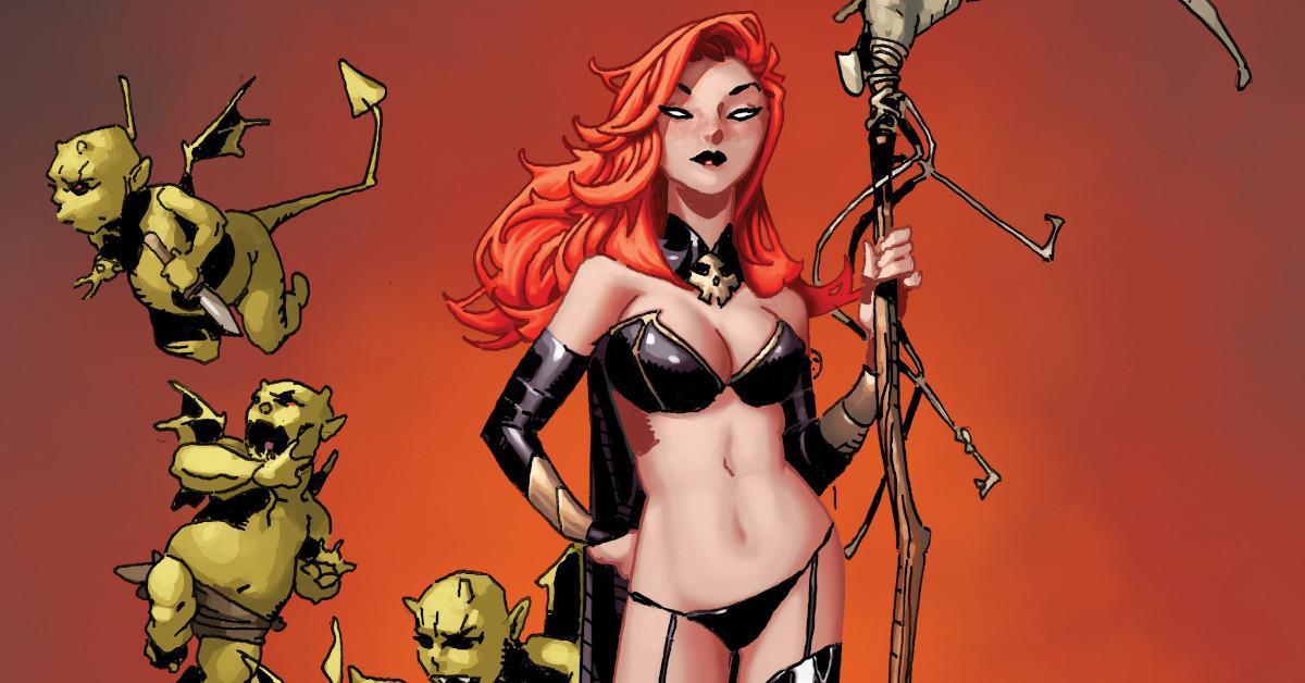 Hellions 4 Goblin Queen Madelyne Pryor Chris Bachalo X-Men Marvel