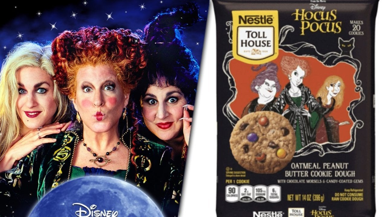 Hocus Pocus Getting Limited Edition Cookie Dough From Nestle Toll House