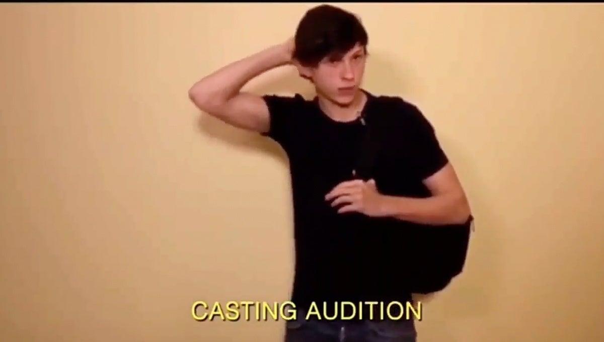 Holland_Spider-man_audition
