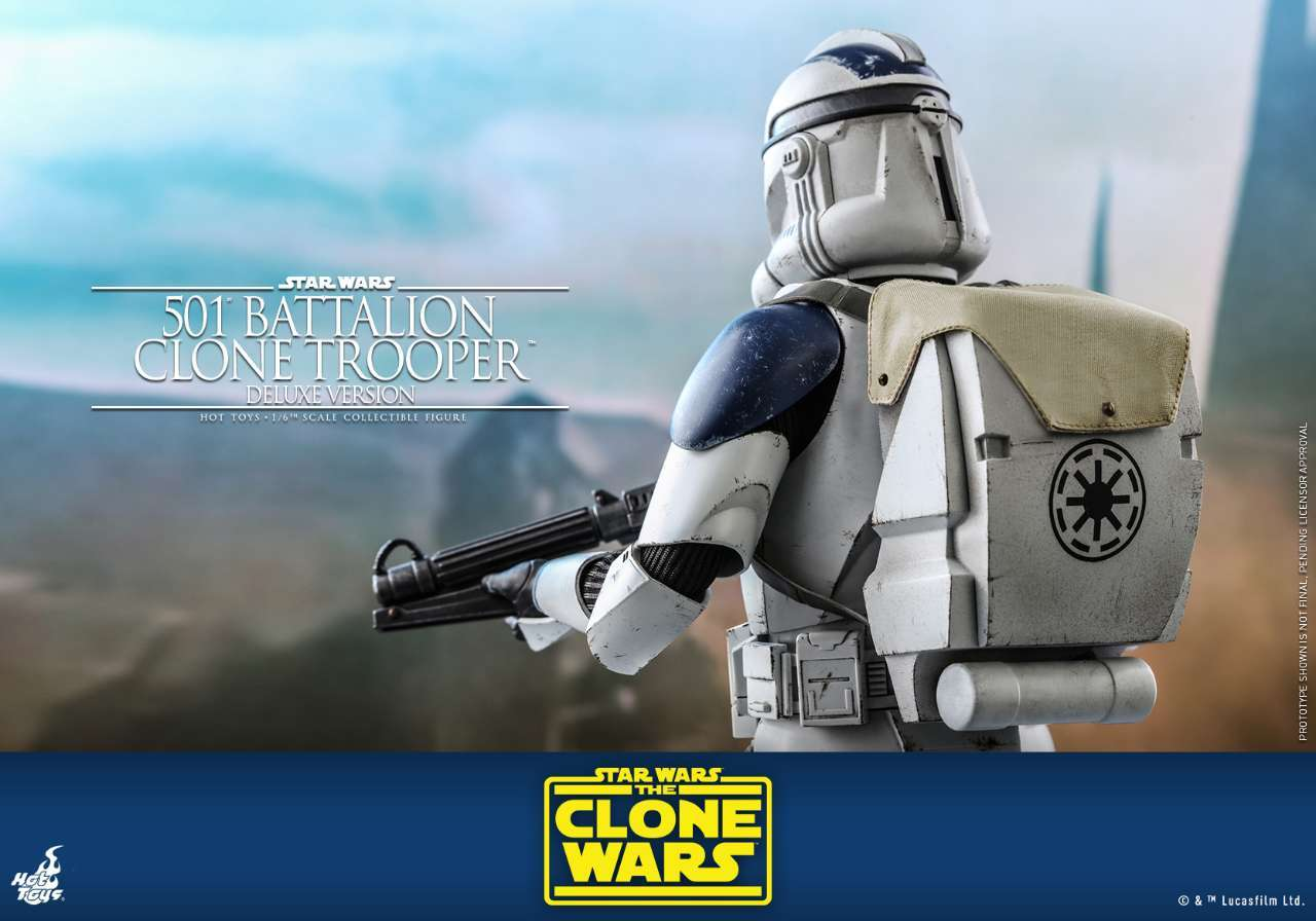 Hot Toys - SWCW - 501 Battalion Clone Trooper collectible figure (Deluxe)_PR16