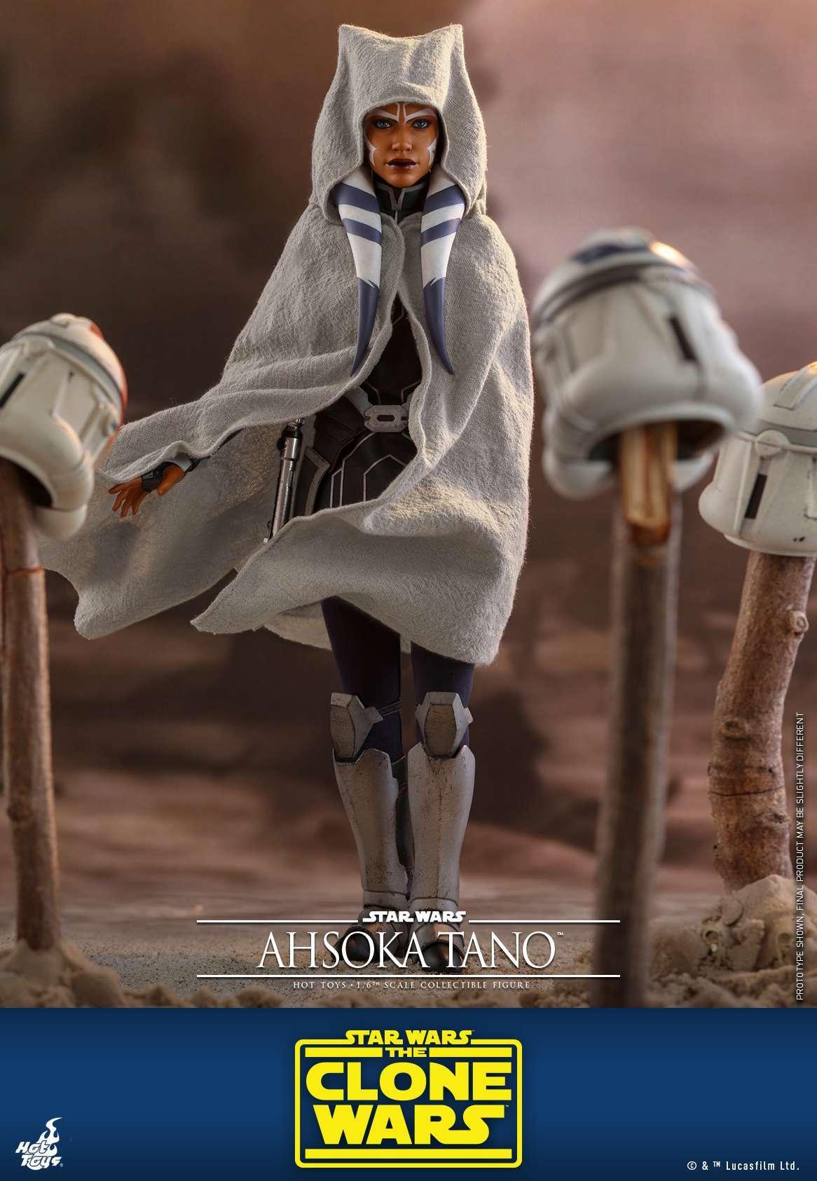 Hot Toys - SWCW - Ahsoka Tano collectible figure_PR14
