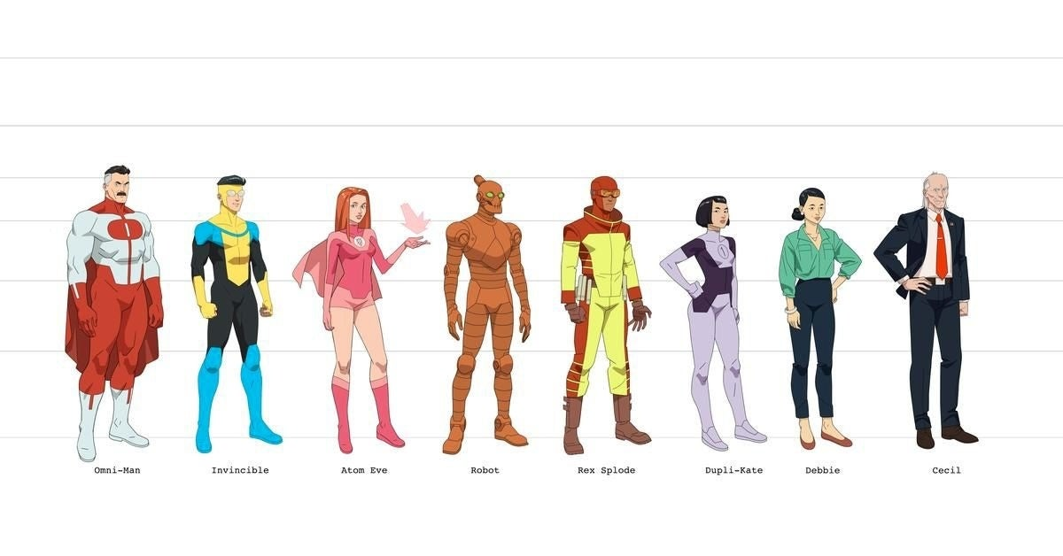 invincible amazon animated characters