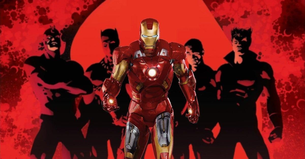 Iron Man 2 Easter Egg Marvel Illuminati Movie TV Show