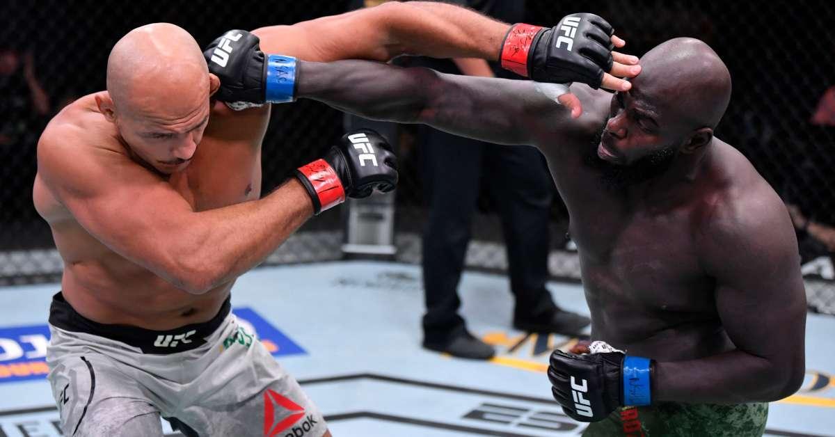 Jairzinho Rozenstruik Junior Dos Santos UFC 252