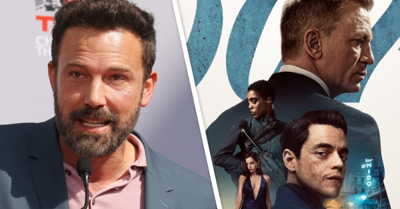 Ben Affleck Rumored to Be Banned From James Bond: No Time to Die Premiere