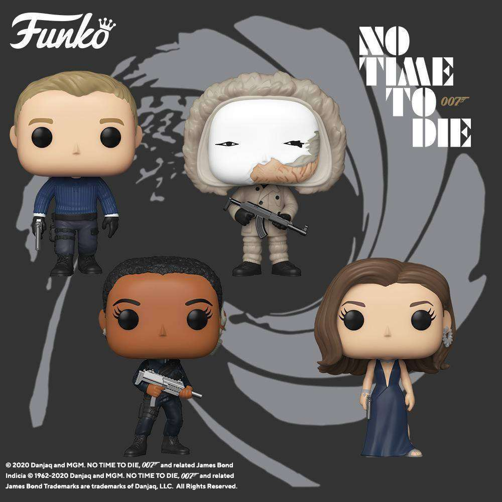 James Bond No Time to Die and Moonraker Funko Pops Have Launched