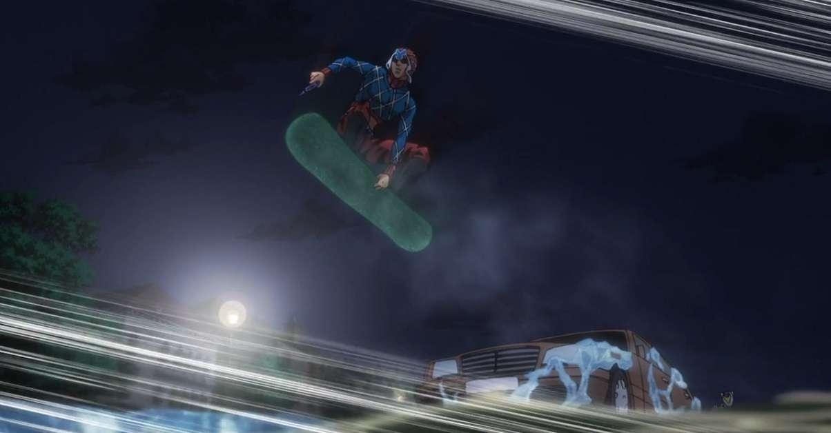 JoJo's Bizarre Adventure Golden Wind Skateboard Deck
