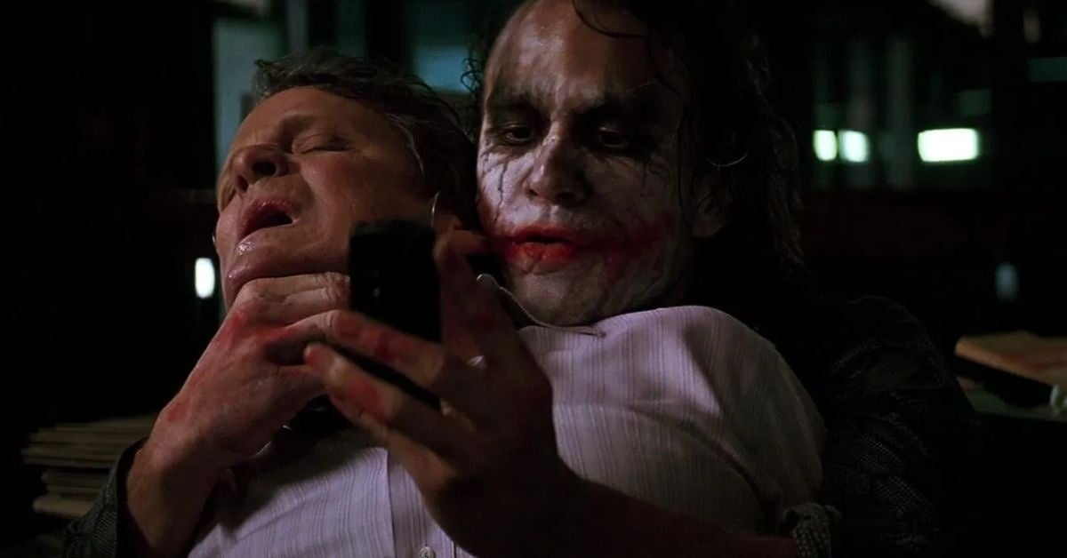 joker dark knight cakes phones