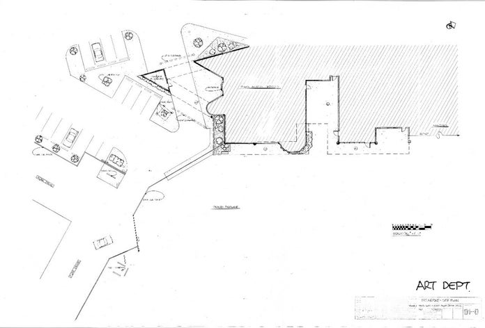 Josie and the Pussycats Blueprints - Ext Airport Site Plan