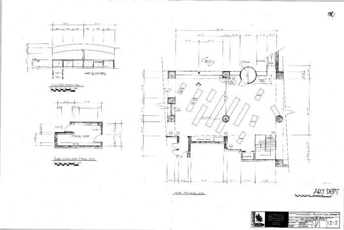 Josie and the Pussycats Blueprints - Megarecords Mez Plan