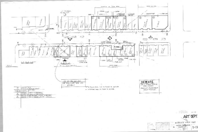 Josie and the Pussycats Blueprints - Riverdale Strip Plans