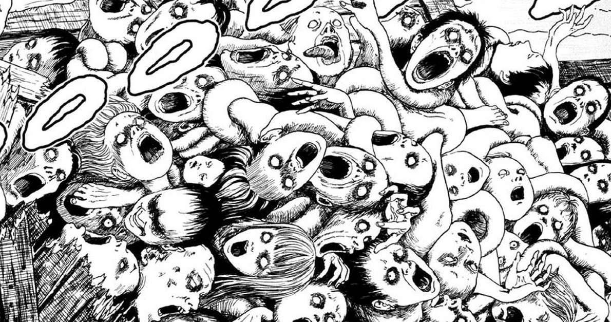 Junji Ito Live Drawing