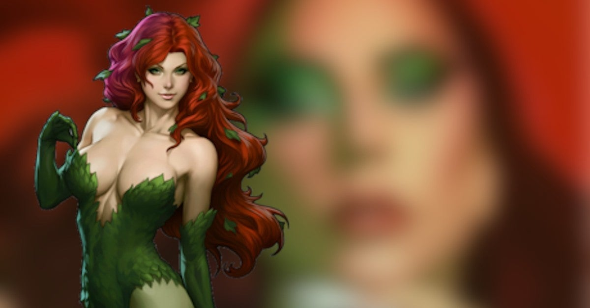 Lady Gaga Poison Ivy Batman DC Comics Fan Artwork