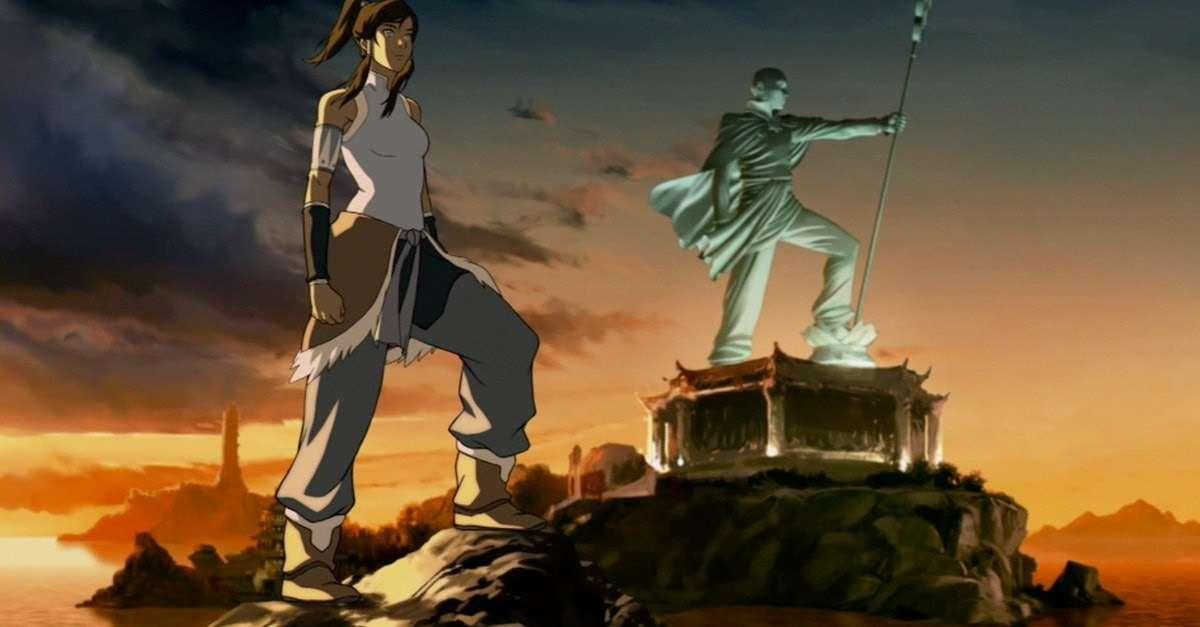 Legend of Korra Netflix Anime