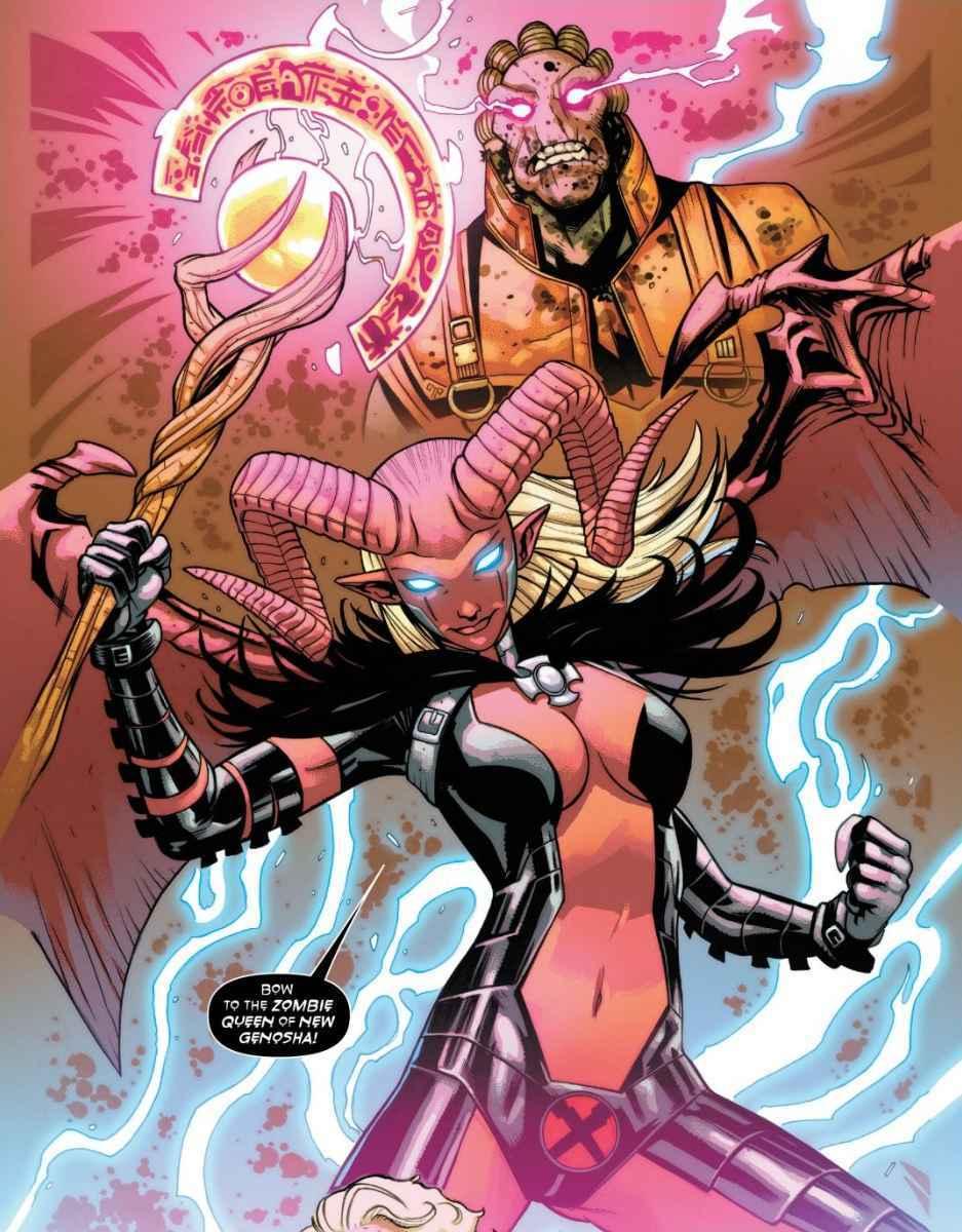 Magik Zombie Queen New Genosha Empyre X-Men Marvel