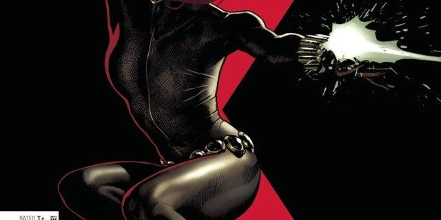 Marvel Black Widow 1 Comic Cover 2020