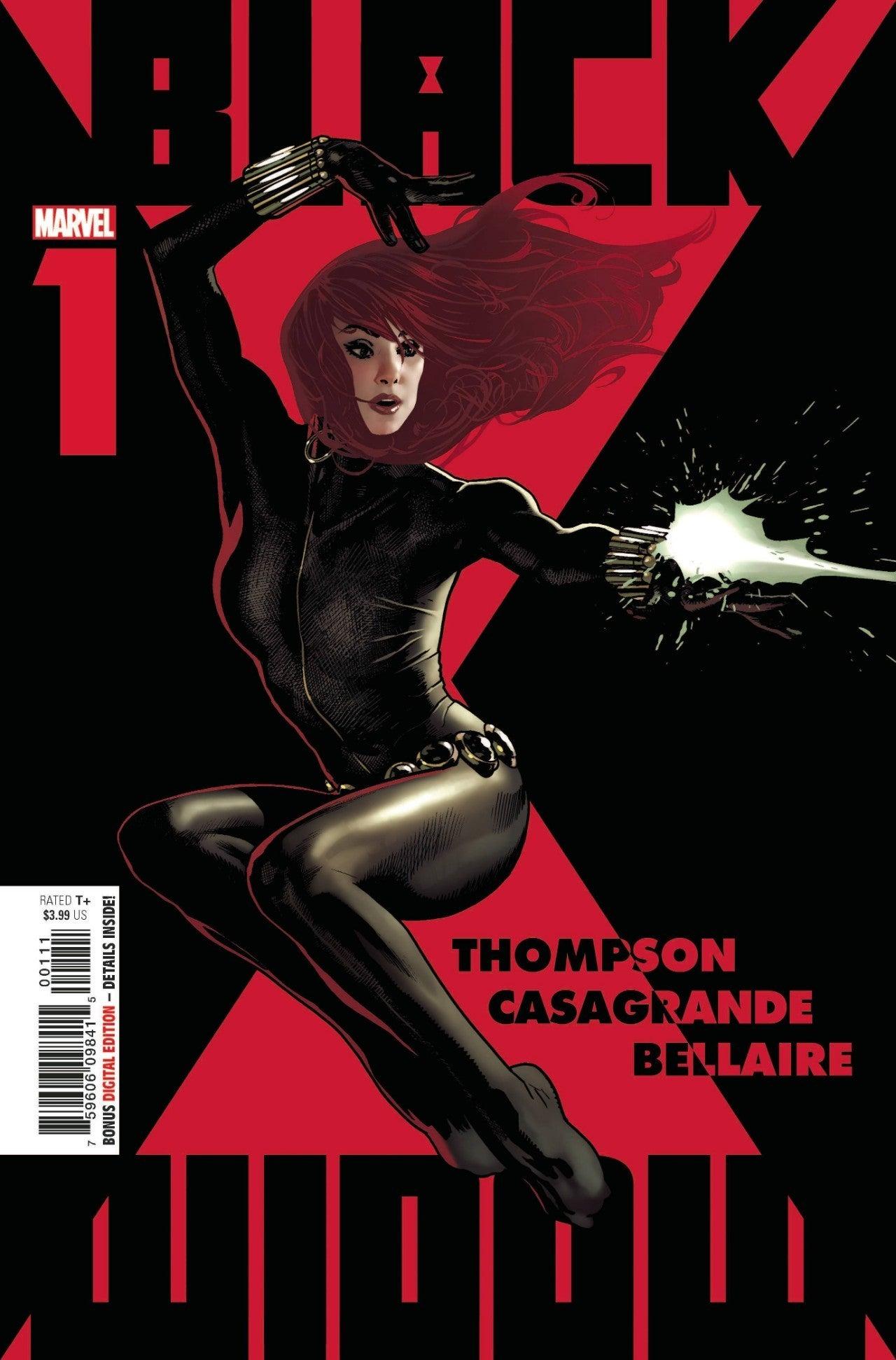 Viúva Negra Marvel 1 Capa Comic 2020