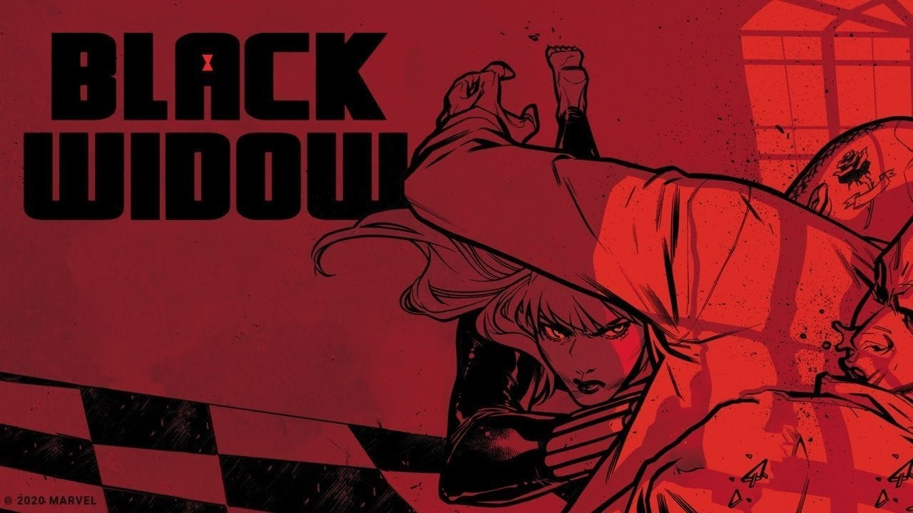 Marvel Black Widow Trailer Comic 2020