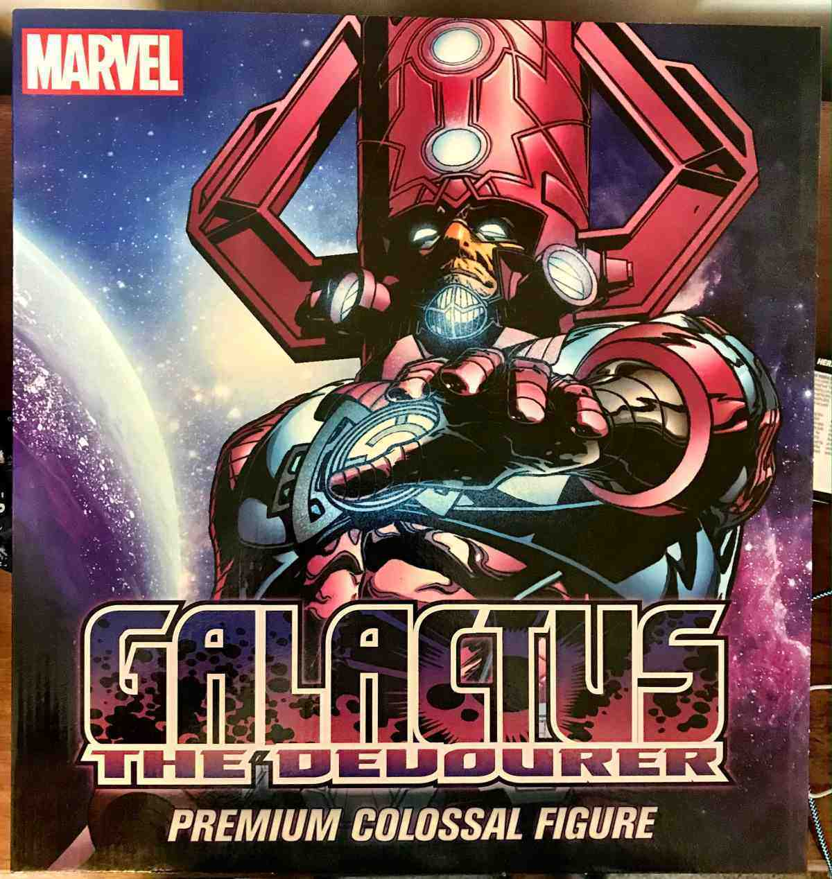 Marvel Heroclix Galactus - Devourer of Worlds Premium Colossal Figure 006