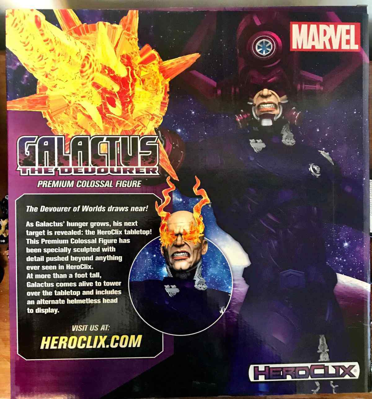 Marvel Heroclix Galactus - Devourer of Worlds Premium Colossal Figure 001