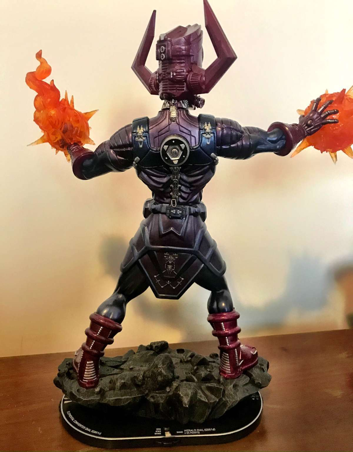 Marvel Heroclix Galactus - Devourer of Worlds Premium Colossal Figure 004