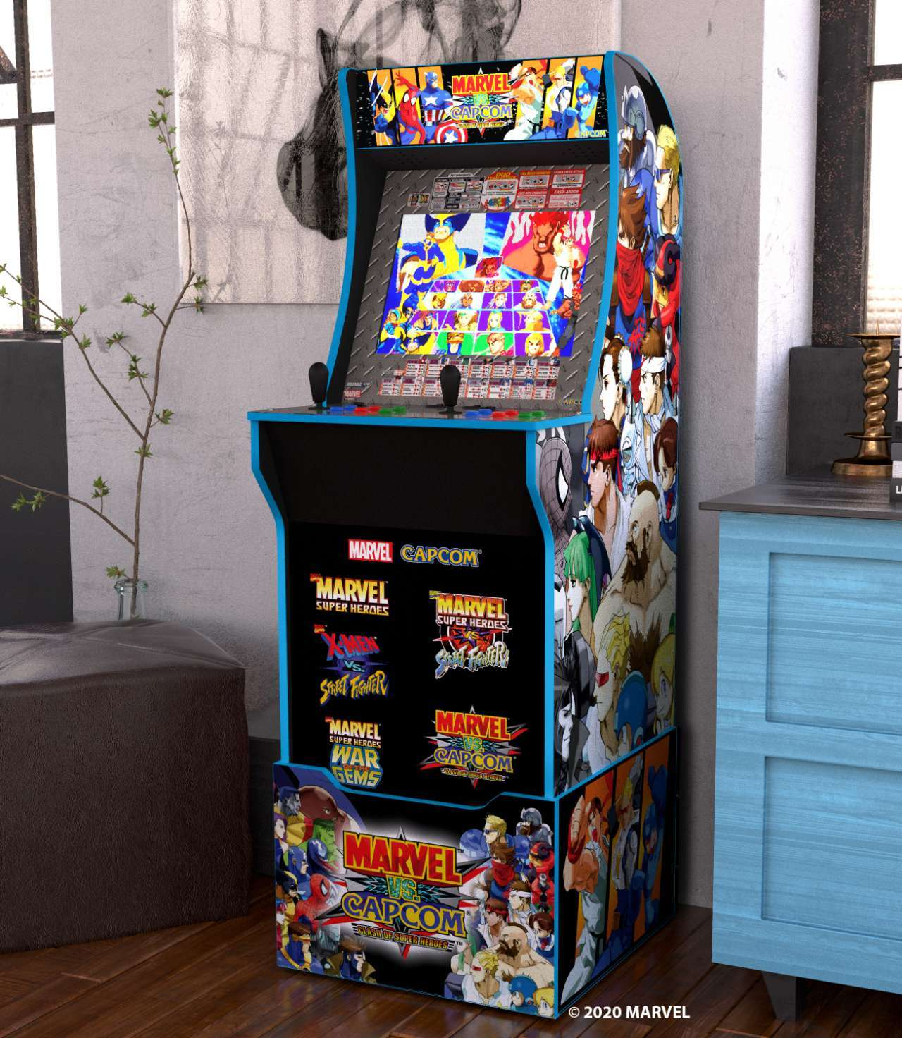 Marvel vs Capcom Other Room