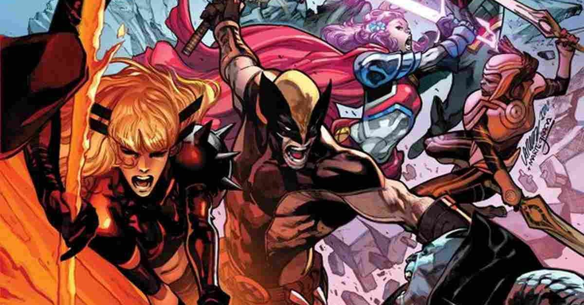 Marvel X-Men X of Swords Event