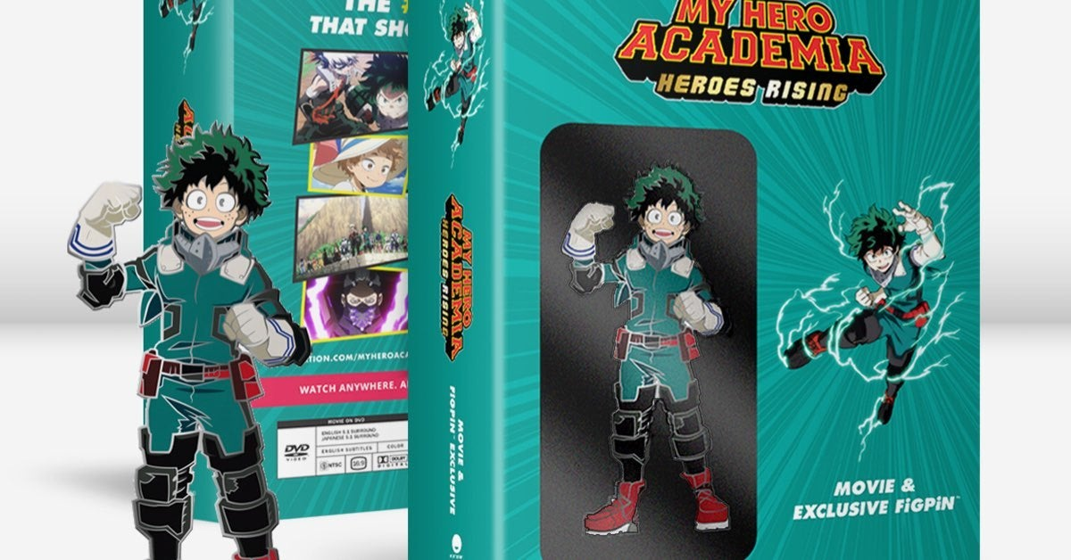 My Hero Academia Heroes Rising Debuts Exclusive Walmart Bundle Blu Ray Dvd