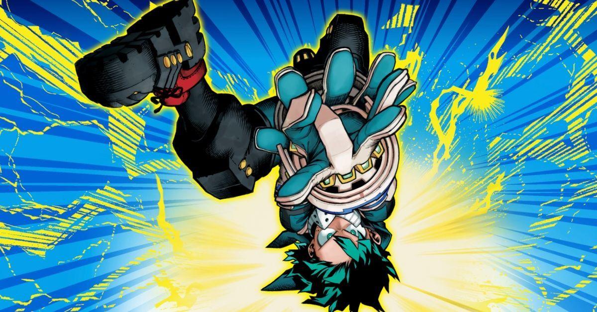 My Hero Academia Izuku Midoriya Deku Anime Manga