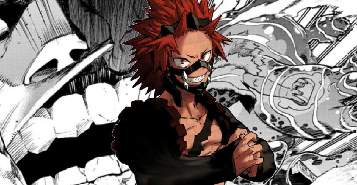 My Hero Academia Manga Kirishima Last Minute Save