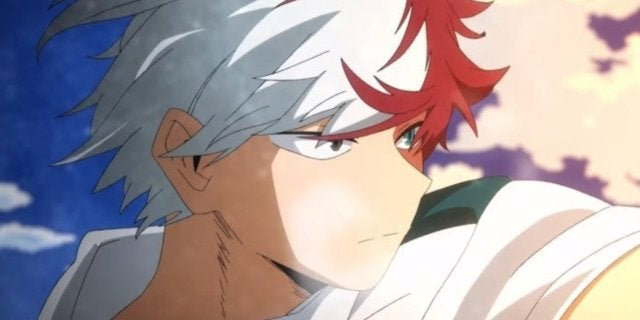 My Hero Academia Shoto Todoroki Anime
