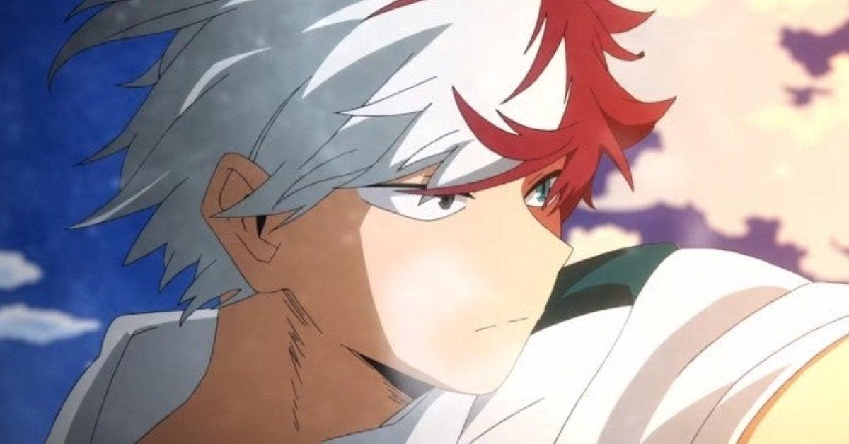 My Hero Academia Shoto Todoroki Anime