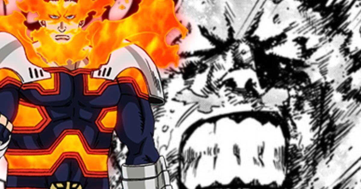 My Hero Academia Spoilers Endeavor Shigaraki Fight Cliffhanger Manga