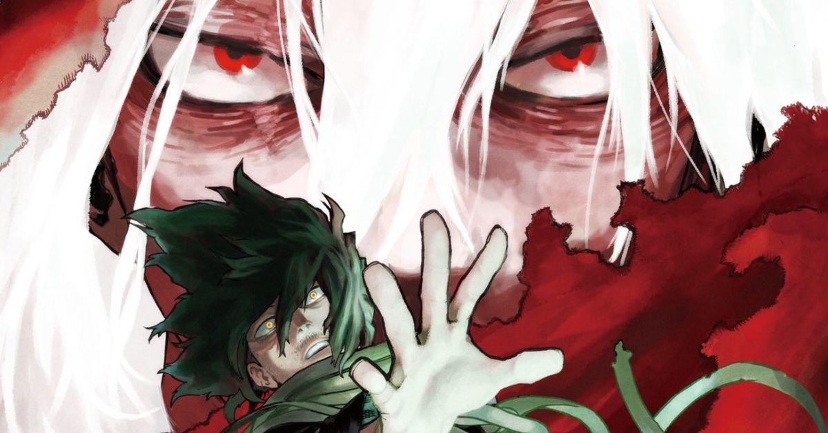 My Hero Academia Volume 28 Cover Art Manga Shigaraki Aizawa