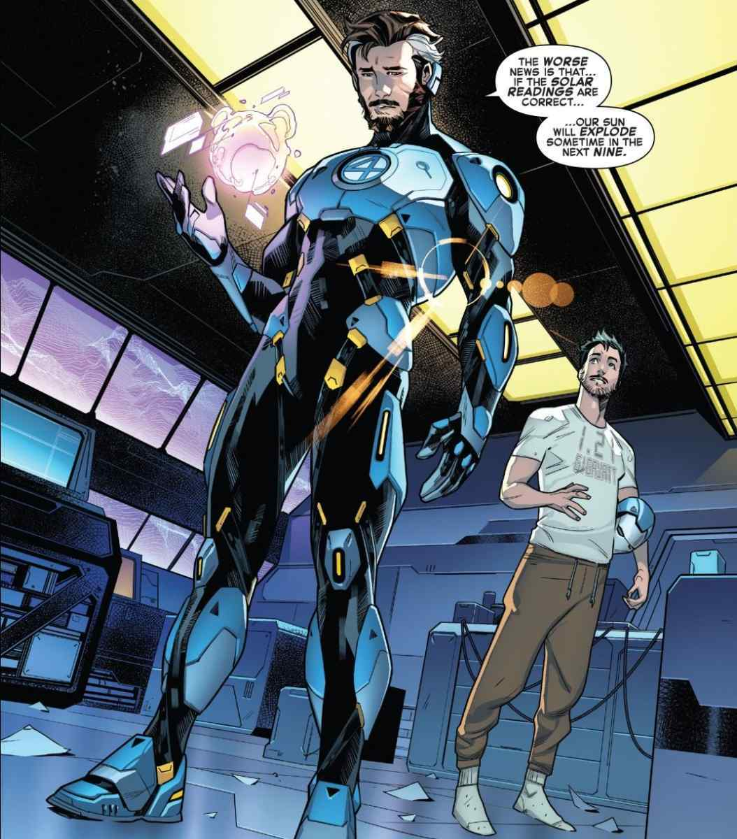 Narvel Empyre Mr Fantastic Iron Man Armor