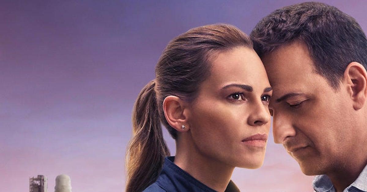 Netflix Away Trailer TV Series Hilary Swank