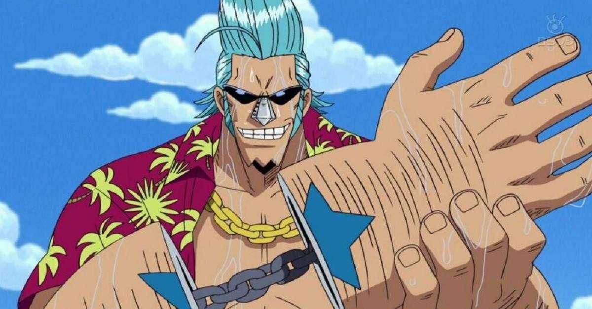 One Piece Franky Scary Fan Art