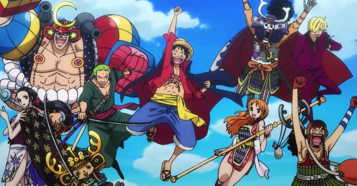 One Piece Straw Hats Wano Country Arc OP 2