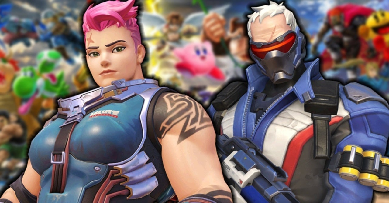 Blizzard Comments on Overwatch Characters Coming to Super Smash Bros. Ultimate as DLC thumbnail
